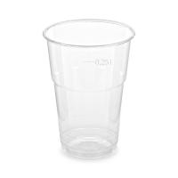 Plastový kelímek 0,25 l - PET, průměr 78 mm, transparentní, 50 ks