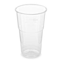 Plastový kelímek 0,3 l - PET, průměr 78 mm, transparentní, 50 ks