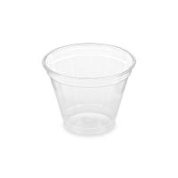 Plastový kelímek 0,25 l - PET, průměr 95 mm, transparentní, 50 ks
