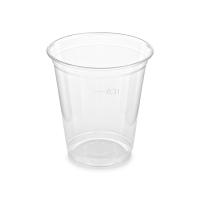 Plastový kelímek 0,3 l - PET, průměr 95 mm, transparentní, 50 ks