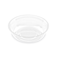 Miska do kelímků PET 95 mm - transparentní, 100 ks