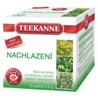 Bylinný čaj Teekanne - nachlazení, 10 sáčků