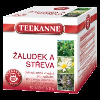 Bylinný čaj Teekanne - žaludek a střeva, 10 sáčků