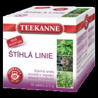 Bylinný čaj Teekanne - štíhlá linie, 10 sáčků