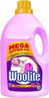 Prací gel Woolite Delicate & Wool - růžový, 4,5 l