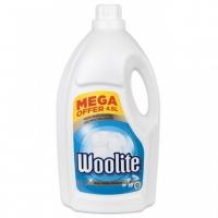 Prací gel Woolite Extra White Brilliance - s keratinem, bílý, 4,5 l