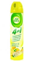 Osvěžovač vzduchu Airwick 4v1 - sprej, citron & ženšen, 240 ml