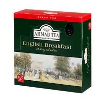 Černý čaj Ahmad - english breakfast, 100 sáčků