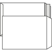 Poštovní taška C4 - bez okénka, krycí páska, 324x229 mm, bílá, 25 ks