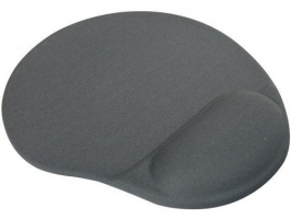 Podložka pod myš - ergonomická, gelová, šedá