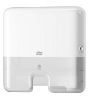 Mini zásobník na papírové ručníky Multifold Tork Express 552100 - plastový, systém H2, bílý