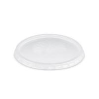 Kulaté víčko na misku 125/150/250/300/400/500 ml - plastové, transparentní, 100 ks