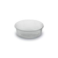 Kulatá miska 125 ml - plastová, PP, transparentní, 100 ks