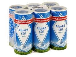 Alpská sůl Bad Reichenhaller - v tubě, s jódem, 500 g