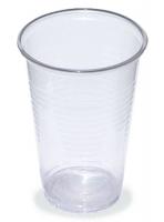 Plastový kelímek 0,2 l - PP, transparentní, 100 ks
