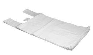 Mikrotenová taška 10 kg - silná, bílá, 200 ks
