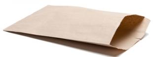 Kupecký sáček 0,5 kg - hnědý, 15 kg