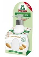 Tekuté mýdlo Frosch EKO - s dávkovačem, mandlové mléko, 300 ml - DOPRODEJ