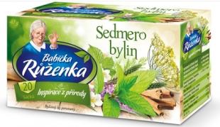 Bylinný čaj Babička Růženka - sedmero bylin, 20 sáčků