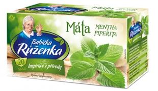 Bylinný čaj Babička Růženka - máta, 20 sáčků