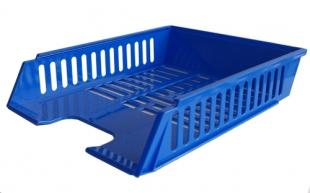 Odkládací zásuvka - plastová, 37x27x7 cm, modrá