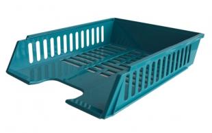 Odkládací zásuvka - plastová, 37x27x7 cm, zelená