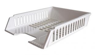 Odkládací zásuvka - plastová, 37x27x7 cm, bílá