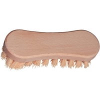 Ruční kartáč - rýžový, dřevěný