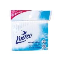 Vatové tyčinky Linteo Care & Comfort - sáček, 100 ks
