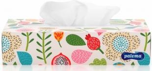 Kosmetické kapesníčky Paloma - v krabičce, dvouvrstvé, 100% celulóza, 100 ks