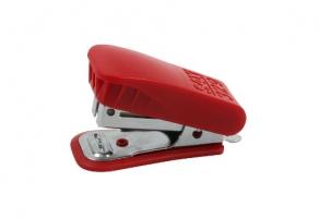 Mini sešívačka SAX 329 - 25 listů, kov/plast, červená
