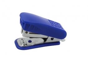 Mini sešívačka SAX 329 - 25 listů, kov/plast, modrá