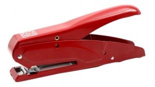 Klešťová sešívačka SAX 620 - 25 listů, kovová, červená