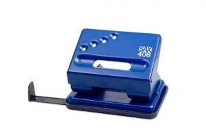 Děrovačka SAX 408 - 30 listů, kovová, modrá