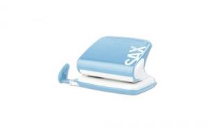 Děrovačka SAX Design 318 - 20 listů, kovová, světle modrá