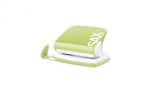 Děrovačka SAX Design 318 - 20 listů, kovová, světle zelená