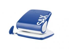 Děrovačka SAX Design 418 - 30 listů, kovová, modrá