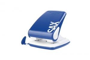 Děrovačka SAX Design 518 - 40 listů, kovová, modrá