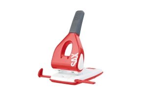 Páková děrovačka SAX Design 618 - 65 listů, kovová, červená