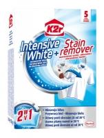 Prací ubrousky pro obnovu bílé barvy prádla K2r Intensive White + Stain Remover - 5 ubrousků - DOPRODEJ