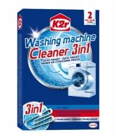 Čistící prostředek na pračky K2r Washing Machine Cleaner 3in1 - 2 sáčky