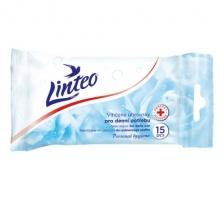 Antibakteriální vlhčené ubrousky pro denní potřebu Linteo - 15 ks