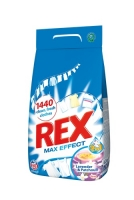 Prací prášek Rex - bílé prádlo, 60 dávek