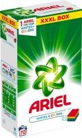 Prací prášek Ariel Whites & Color XXXL Box - bílé a barevné prádlo, 70 dávek