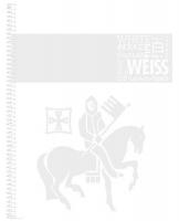 Kroužkový college blok A4 Staufen Premium - čistý, 80 listů, bílý