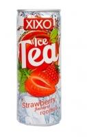 Ledový čaj XIXO - jahoda, 250 ml