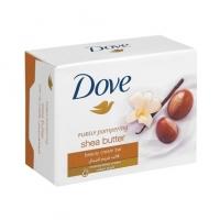 Toaletní mýdlo Dove - shea butter, 100 g - DOPRODEJ