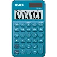 Stolní kalkulačka Casio SL 310UC BU - 1 řádek, 10 znaků, modrá