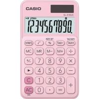 Stolní kalkulačka Casio SL 310UC PK - 1 řádek, 10 znaků, růžová
