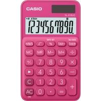 Stolní kalkulačka Casio SL 310UC RD - 1 řádek, 10 znaků, červená